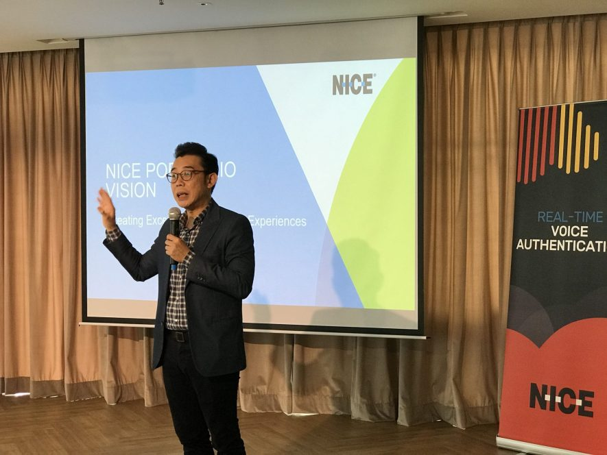 Chris Chong from NICE