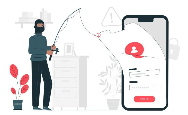 What is phishing email?