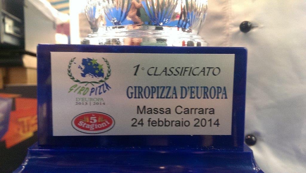 giropizza, Campionato internazionale GIROPIZZA!