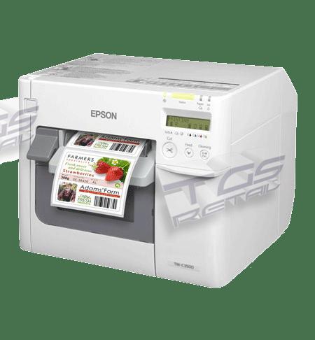 stampante per etichette a colori epson tm-c3500