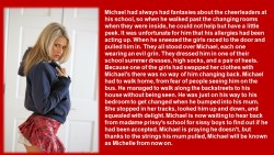 GIRLS TEACH MICHAEL A LESSON!!