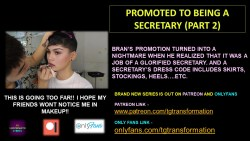 PROMOTED TO BEING A SECRETARY (PART 2) (TEASER)