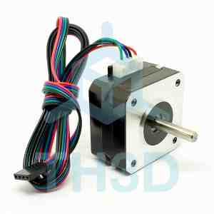 1A Pancake Stepper Motor - NEMA 17 22.6mm