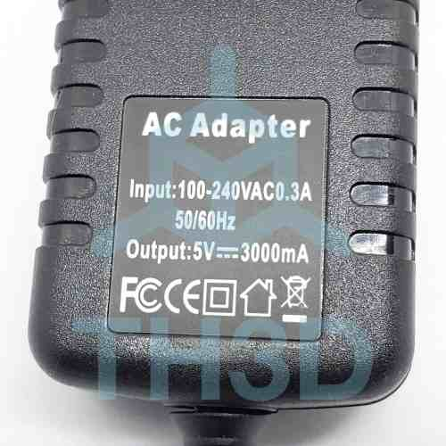 Raspberry Pi 3 Amp Power Adapter with Switch
