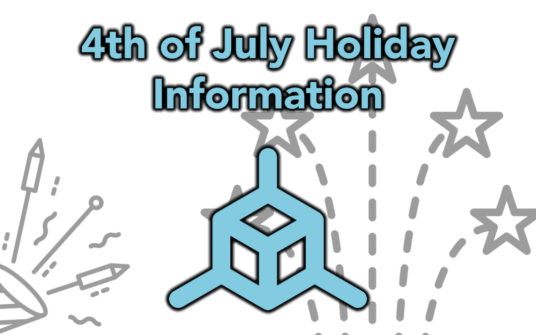 4th of July TH3D Holiday Closure Information