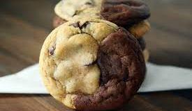 Brownie & Chocolate Chip Cookies Brookies