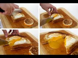 Cheesy Egg Toast Perfect For Breakfast