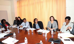 Teaching Service Commission and the members of the Department of Education from the Division of Education, Youth Affairs and Sport discuss matters relating to teachers.
