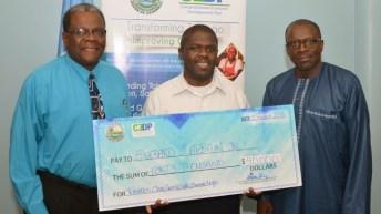 Winning Logo – Tobago Clean, Green, Safe, Serene
