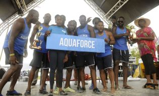 WASA Aquaforce dragon boat team rows to silver.
