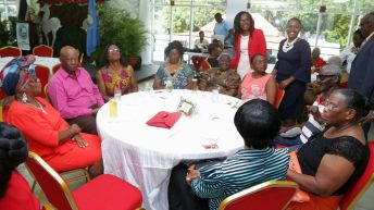 Chief Secretary hosts luncheon for seniors