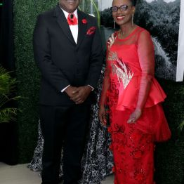 THA Chief Secretary Hon. Kelvin Charles and wife, Catherine Anthony-Charles.
