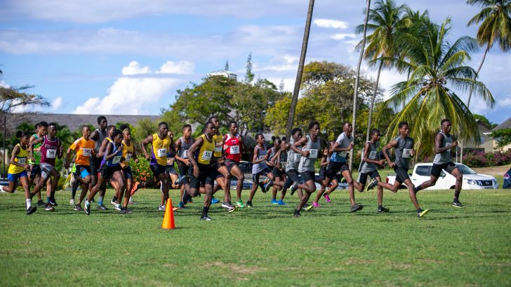 London wins Tobago Cross Country title