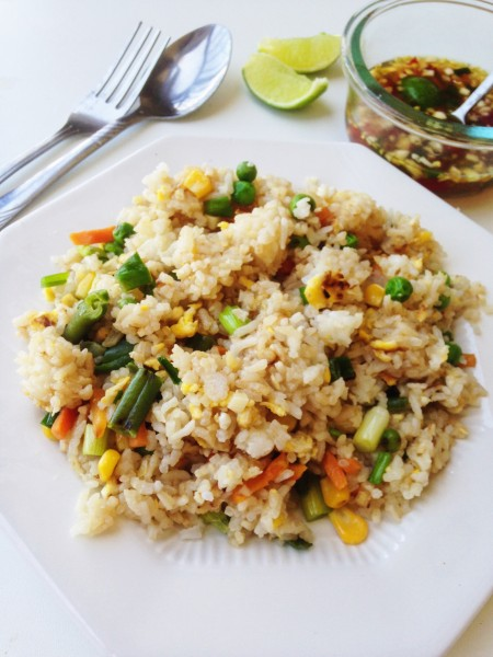 Thai Stir-Fried Rice Recipe | Khaw Pad Gai
