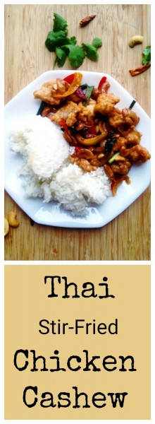 Thai Cashew Fried Chicken Recipe-Thai-Foodie: Want to make the crispy Thai Chicken Cashew Stir-Fry you always get at your favorite Asian restaurant? This recipe shows you how to make the chicken crispy, and how to make a sweet, savory, spicy sauce to go with it! The best therapy for a hard day!!! | thai-foodie.com