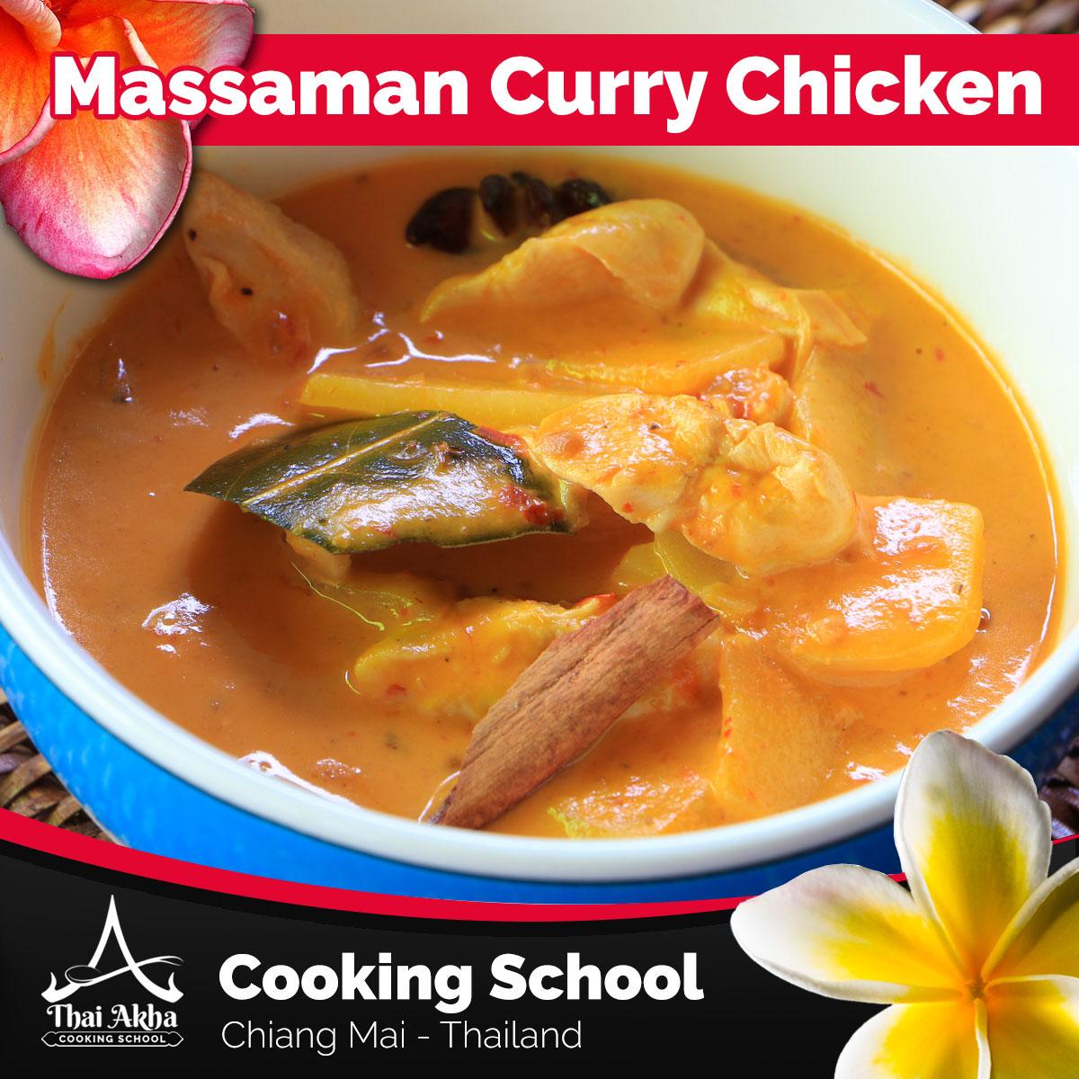 Massaman Curry Chicken - Akha Kitchen - Akha Recipes - Thai Akha Kitchen