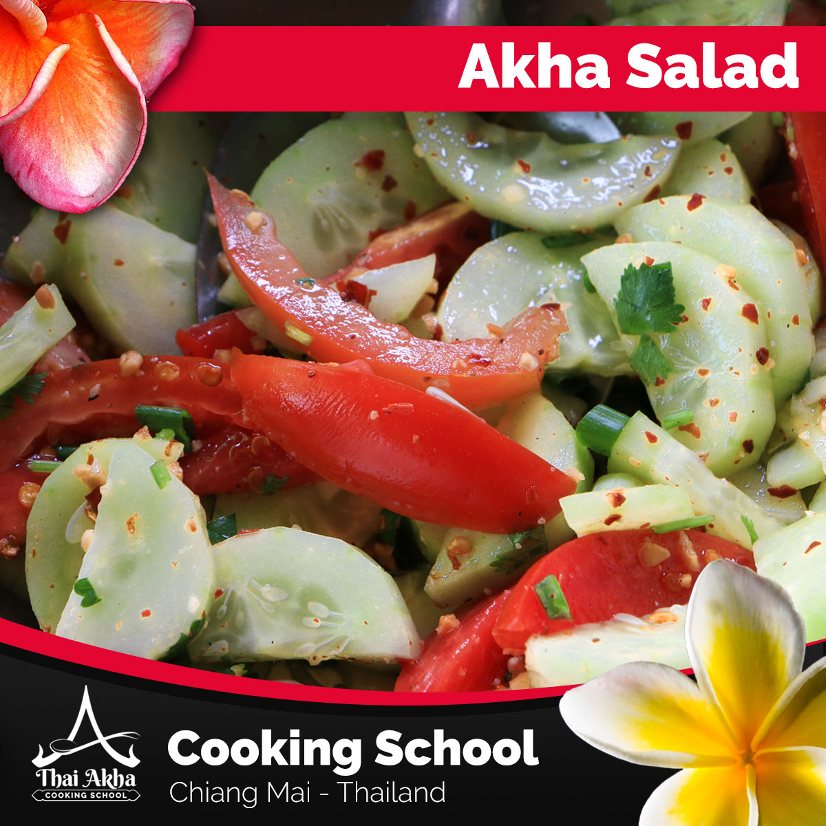 Akha Salad - Akha Kitchen - Akha Recipes - Thai Akha Kitchen