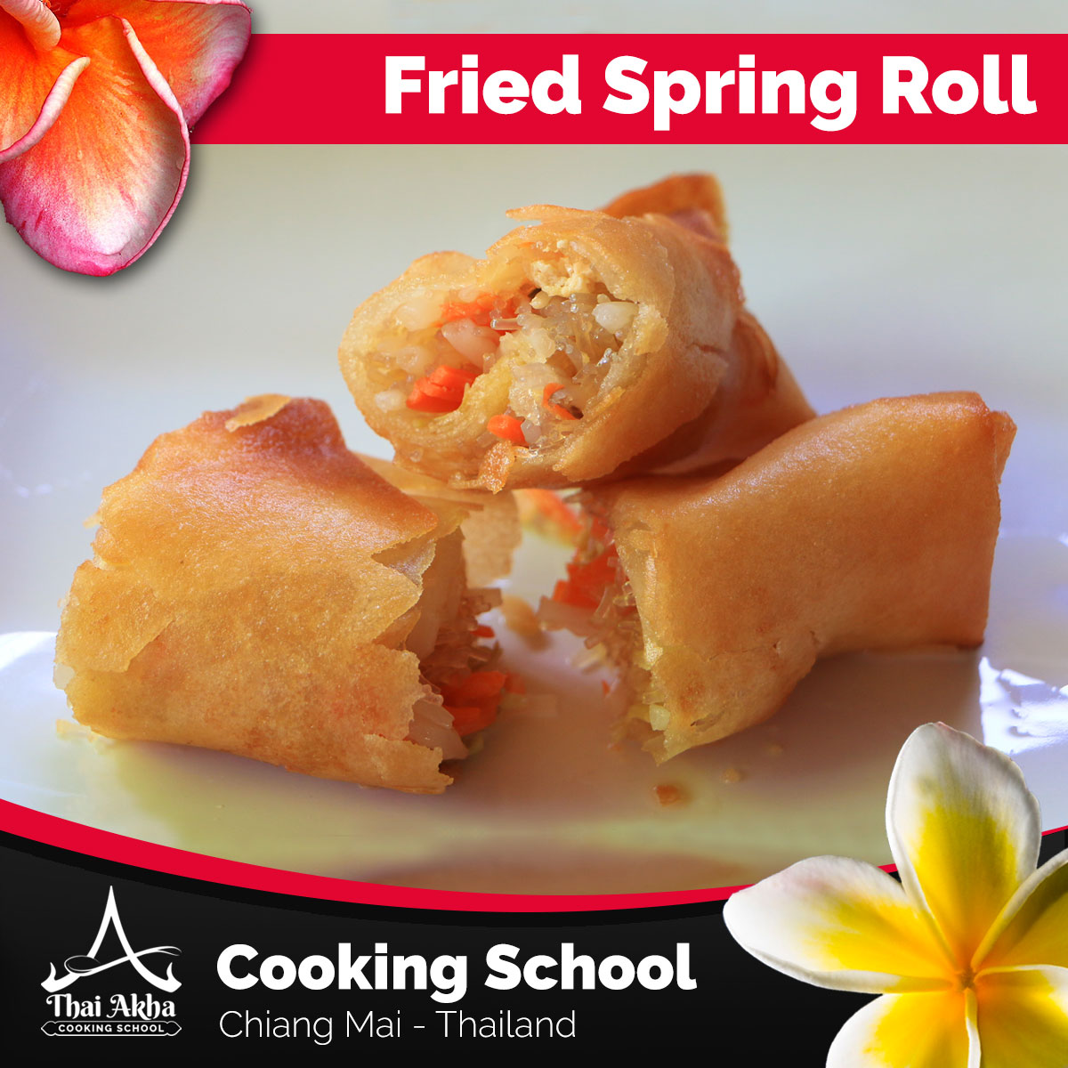Fried Spring Rolls - Akha Kitchen - Akha Recipes - Thai Akha Kitchen