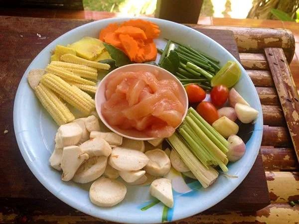 Cooking Class Tom Kha