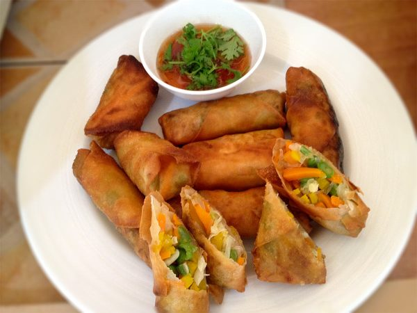 Spring Roll Cooking Lesson 01