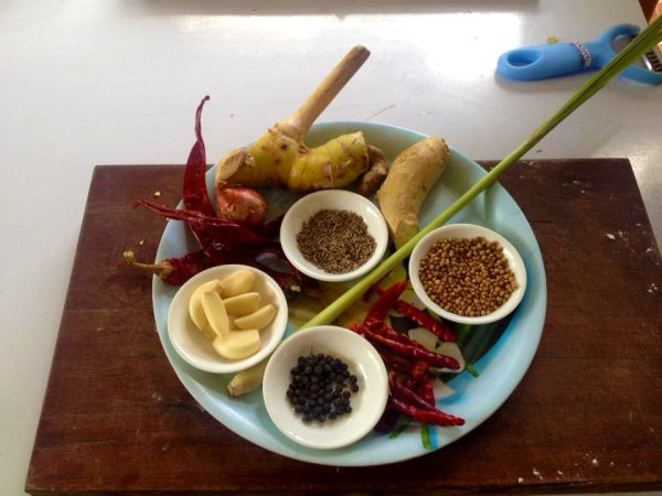 Phanaeng Curry Paste Ingredients Overview