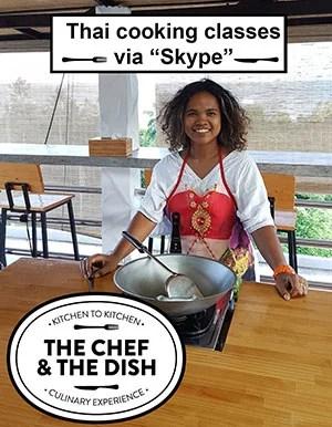 virtual Thai cooking class