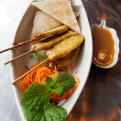 A1. SATAY CHICKEN OR PORK