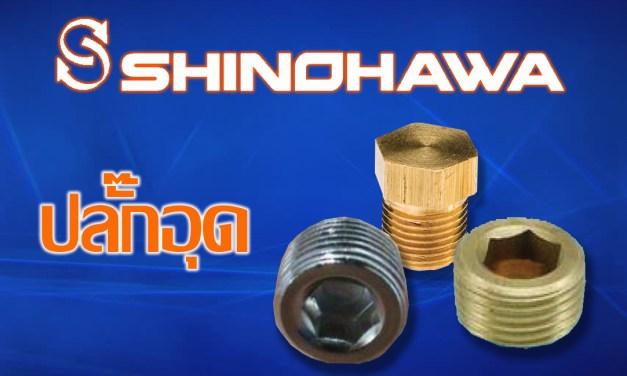 SHINOHAWA: ปลั๊กอุดทองเหลือง