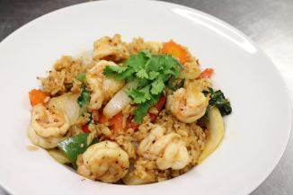 King prawns fried rice Bolton