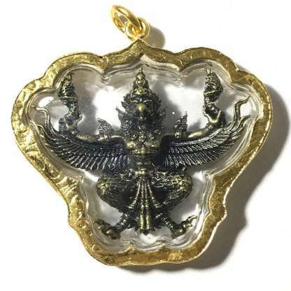 Paya Krut Garuda Amulet Blessing at Wat Kruta Ayuttaya3