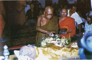 Luang Por Hyords Funeral