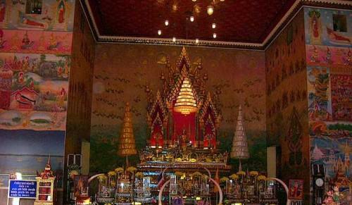The Buddha within the Shrine Area