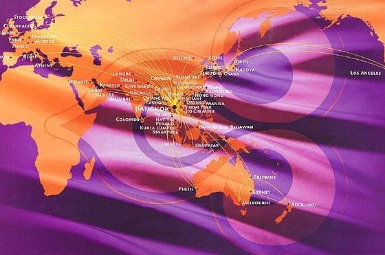 Thai Airways routes