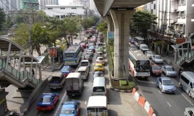 Sky train Bangkok transport