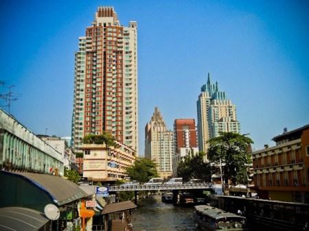 Canal view Bangkok