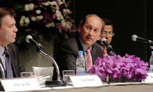 press conference in Bangkok, Mr Bulcke