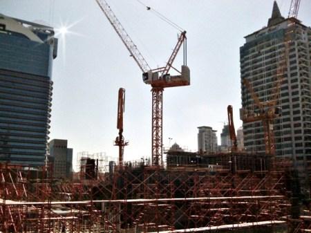 Bangkok building works