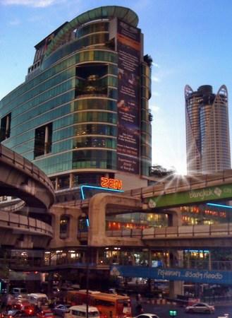 zen building Bangkok inersection