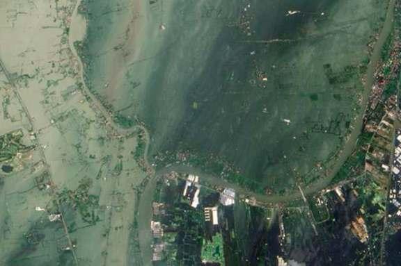 ayutthaya flooded