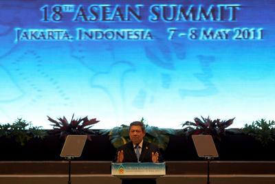 Indonesian President Susilo Bambang