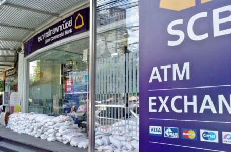 Thai Bank SCB, protected from flooding