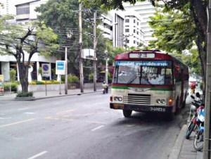 Free Bus in Bangkok