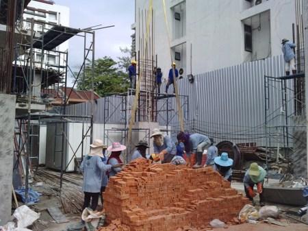 construction workers Bangkok