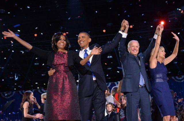 Obama wins second term