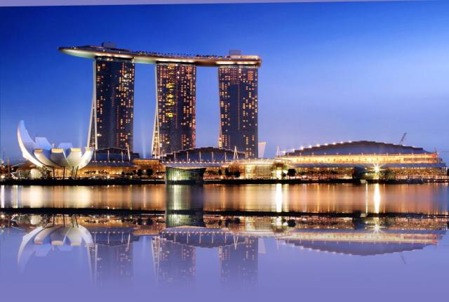 Marina Bay Sands has become a symbol and new landmark for Singapore