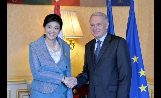 French PM and Thailand PM in July 2012