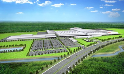 Rendering of HATC new plant