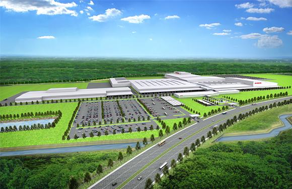 Rendering of HATC new plant