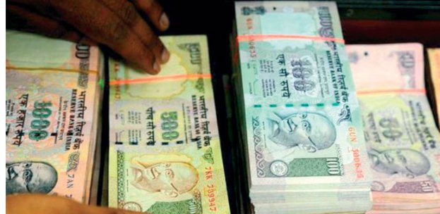 Indian currency ended the day at a new low of 58.15 to the dollar