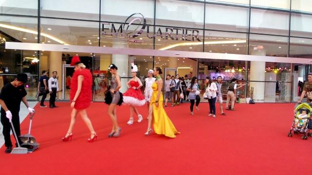Bangkok retail market, EmQuatier